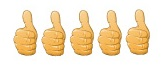 5 Thumbs-Up