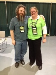 Patrick Rothfuss and Cate Agosta - Emerald Citty Comicon 30th March 2014